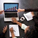 Qual o impacto da projeção financeira no negócio?