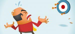 Erros de conciliação bancária