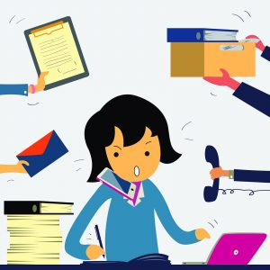 Trabalho da Secretária
