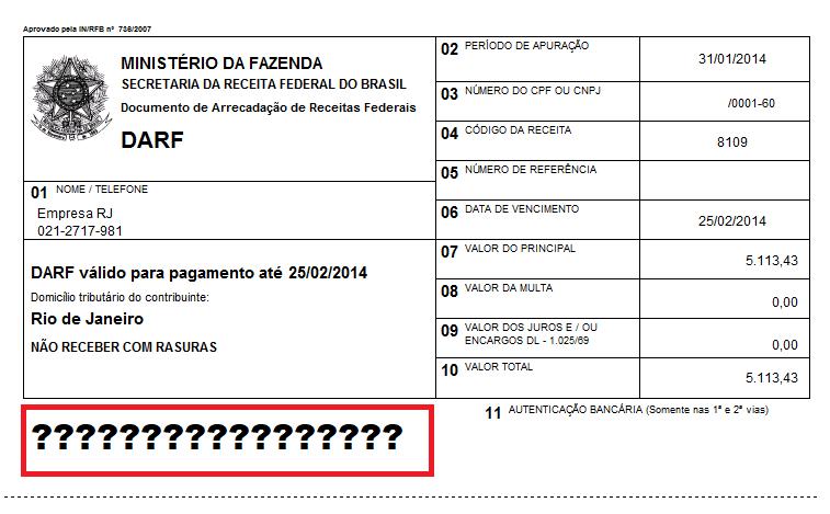 DARF -em PDF