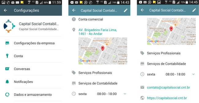 WhatsApp para Empresas - Confirmação de Conta