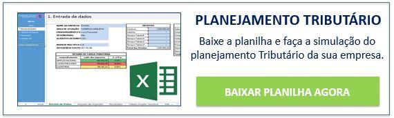 Botão para download de planilha de Planejamento Tributário