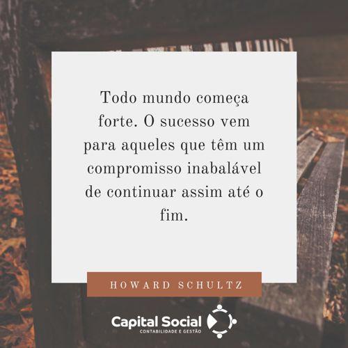 Frase de Howard Schultz